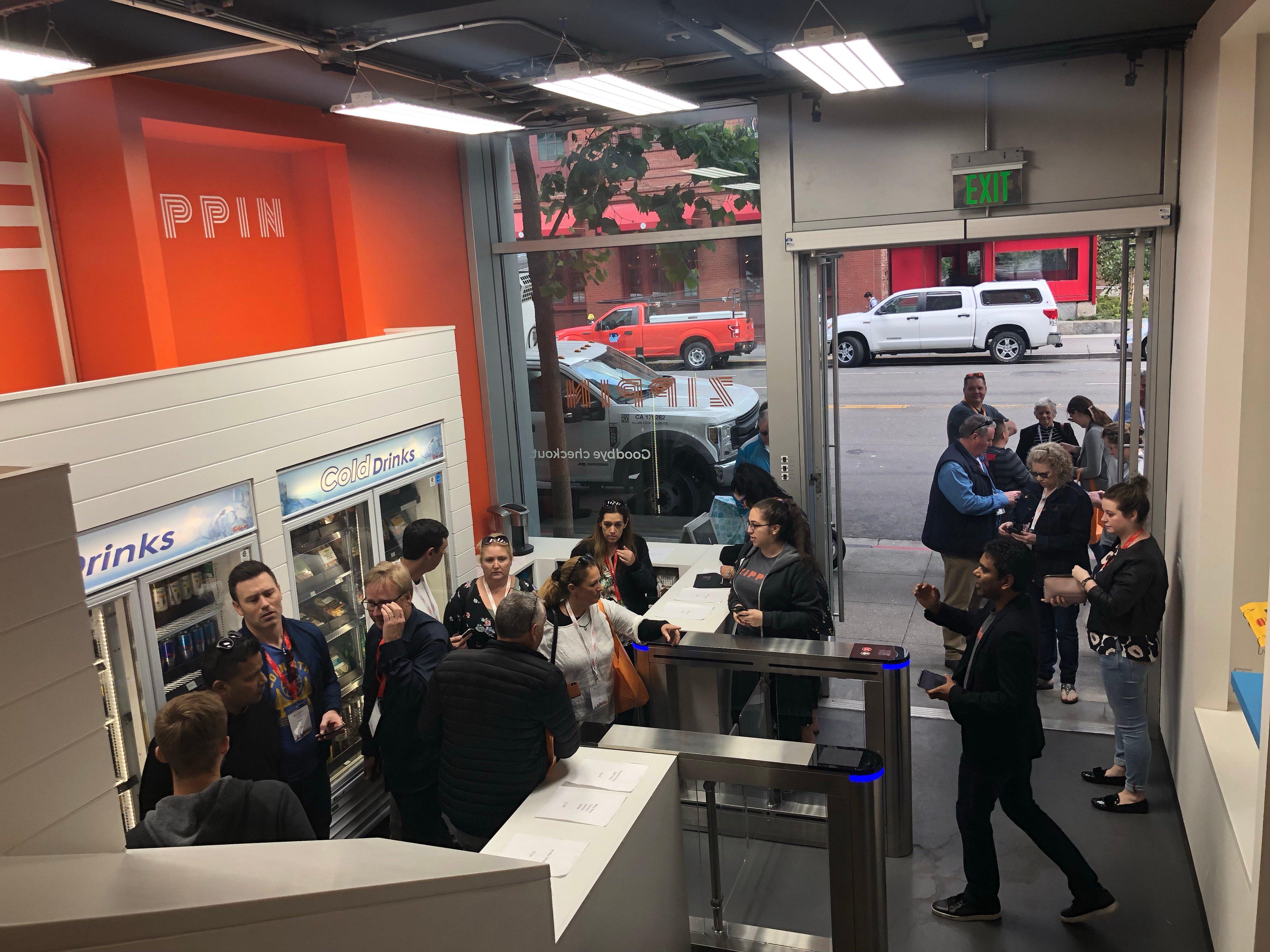 Zippin busy demo