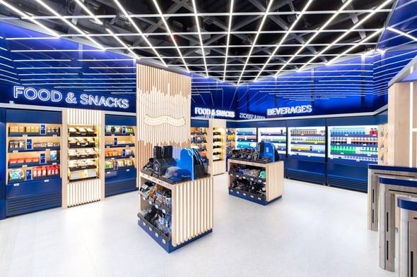amex shop inside