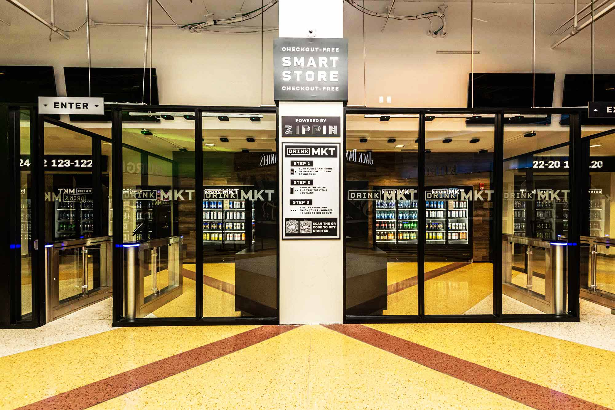 zippin checkout-free smart store